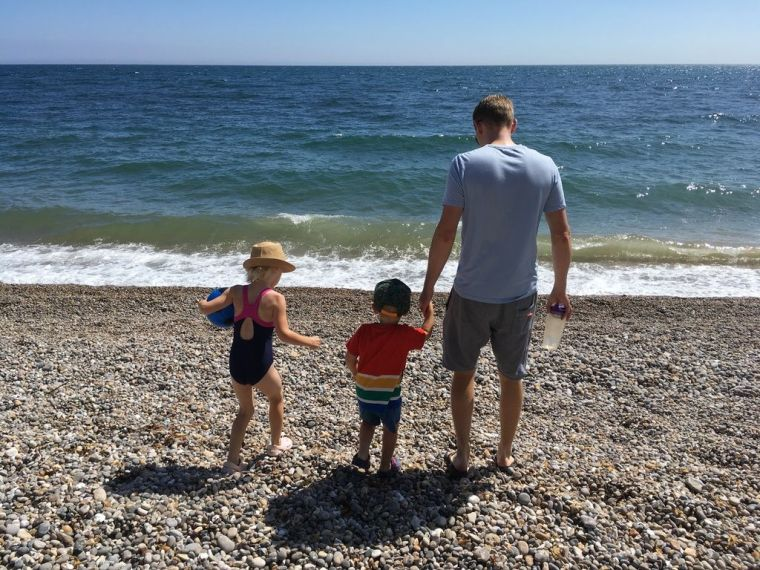Our 2019 family travel, events and days out bucket list - Branscombe beach Devon