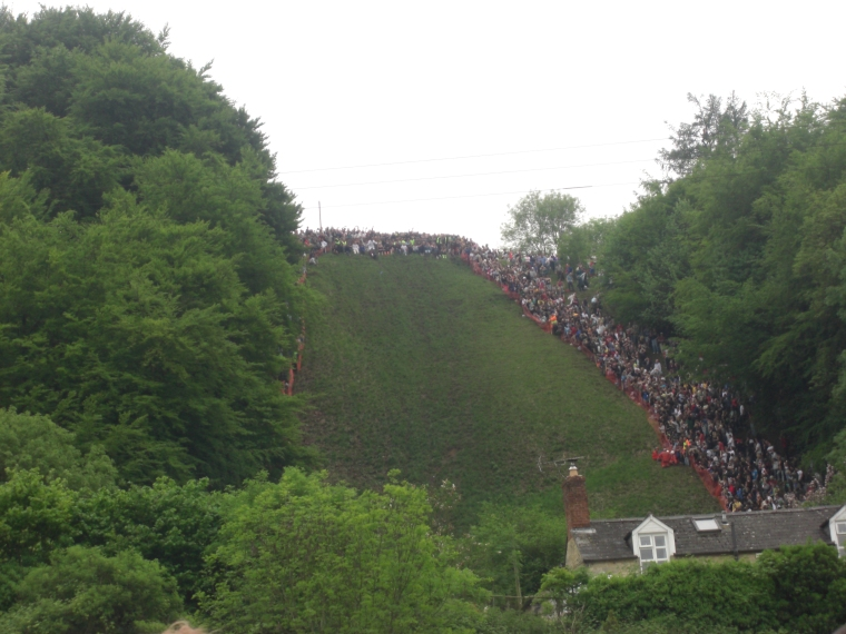 What is the Coopers Hill Cheese Rolling in Gloucestershire (2).JPG