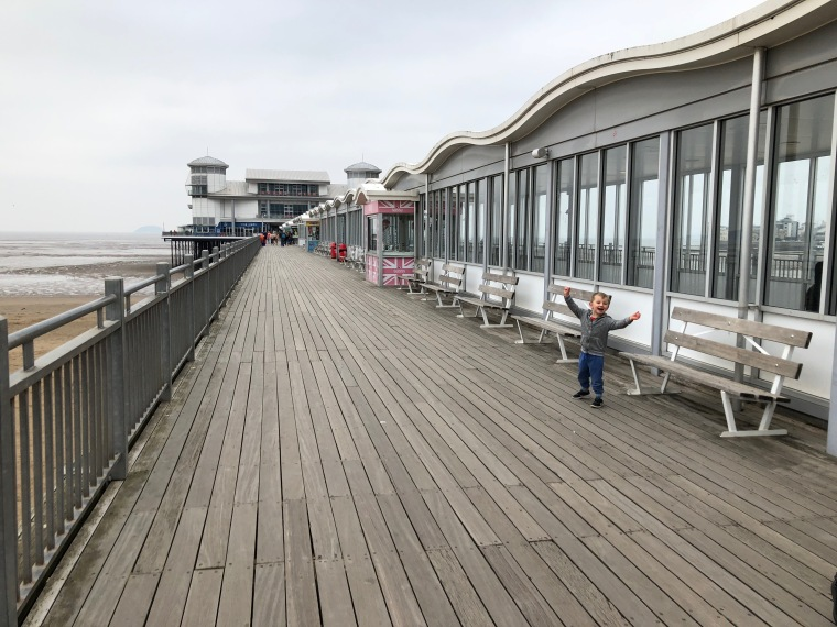 Days out with kids at Weston-super-Mare beach + pier