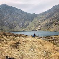 Snowdonia National Park with kids - 3 day travel diary & photos - Cadair Idris, Aberdovey, Harlech Castle