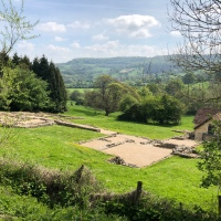 A woodland walk from Coopers Hill Nature Reserve to Great Witcombe Roman Villa