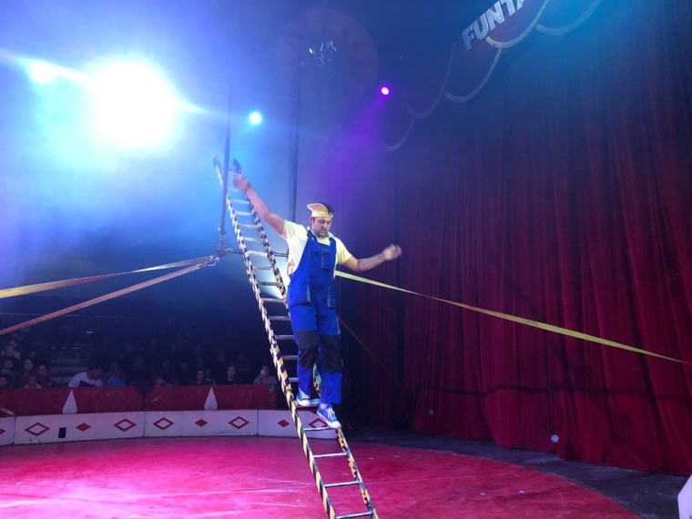 Circus Funtasia Review clown comedy