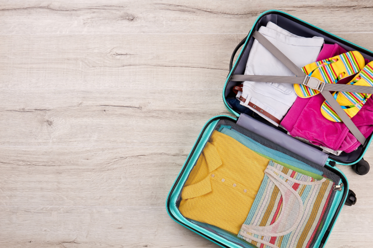 Packing a suitcase tips