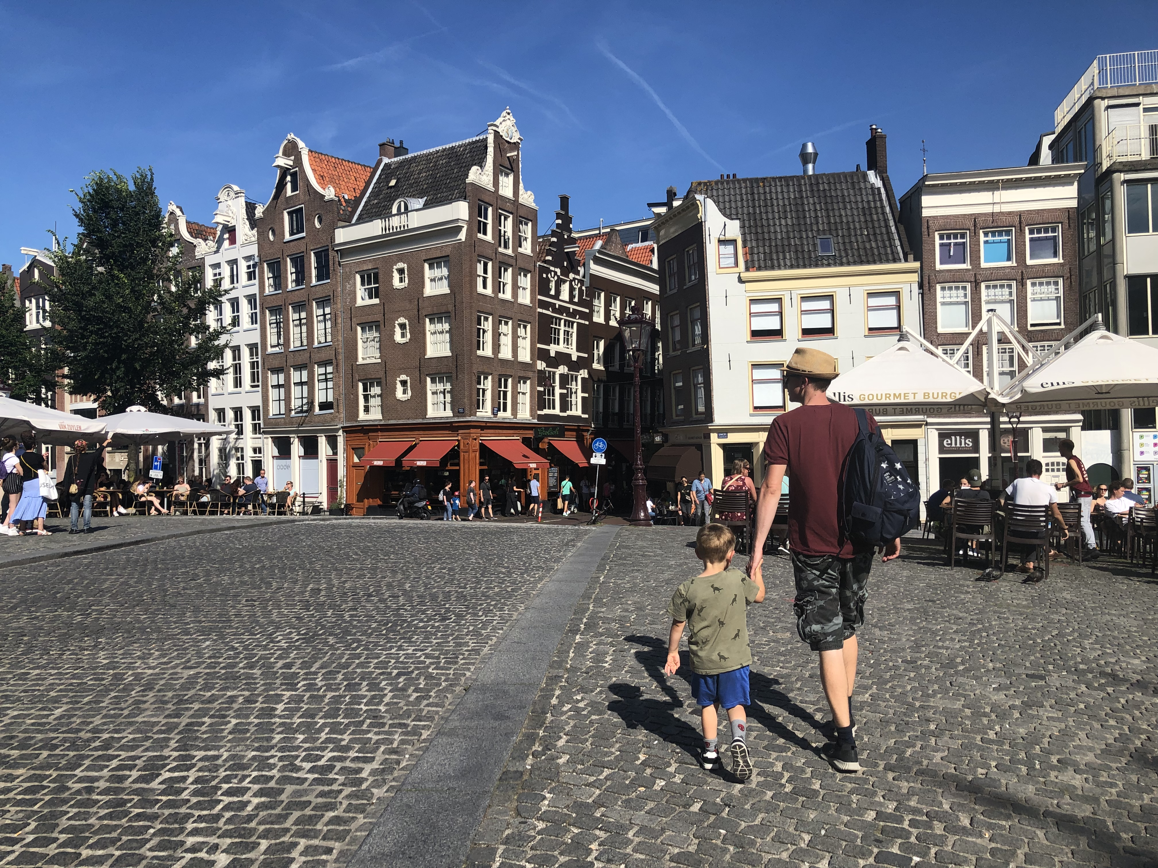 Exploring Amsterdam for one day with kids on our Europe road trip