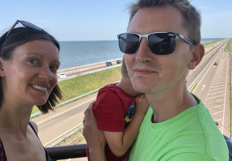 Europe family road trip day 6 - 11 hour Netherlands coastal scenic drive from Germany to Belgium