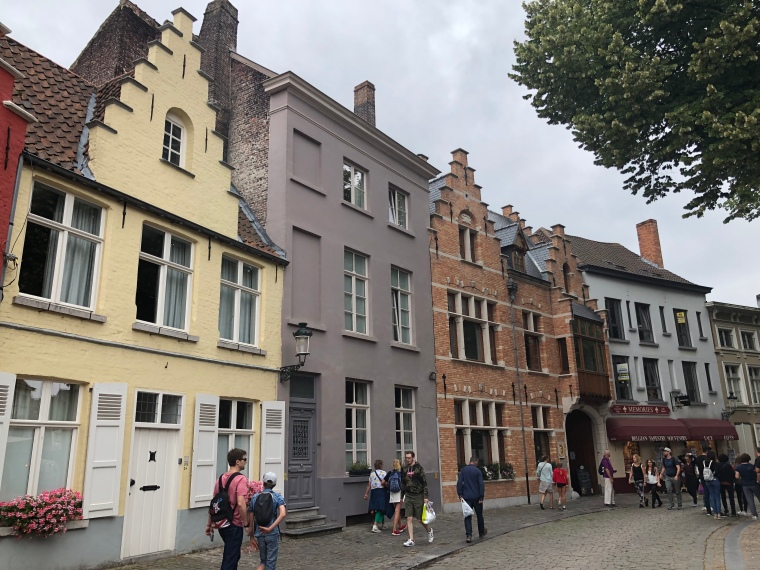 Belgian Architecture - A day in Bruges with kids on our Europe road trip