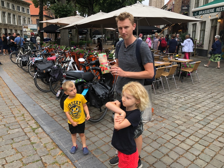 Belgian chocolate in Belgium - A day in Bruges with kids on our Europe road trip