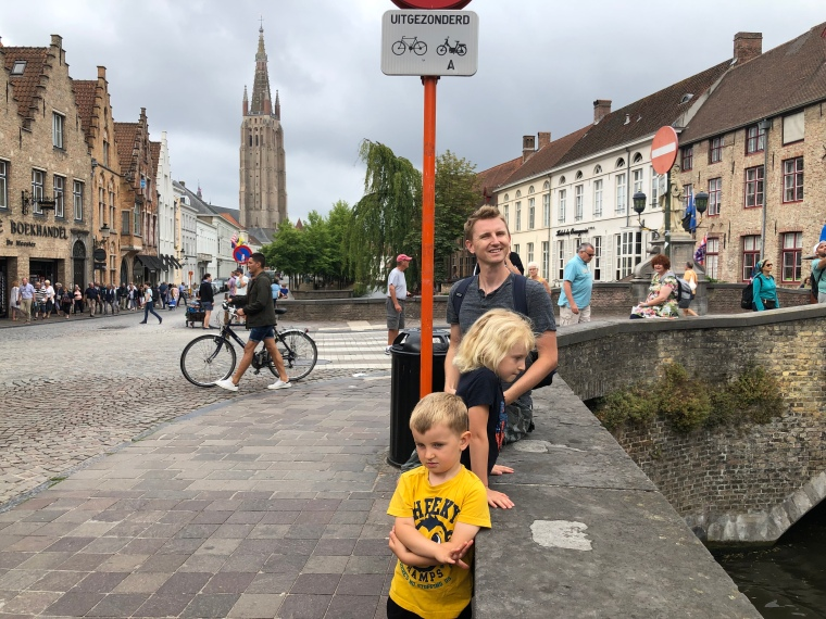 A day in Bruges Belgium with kids on our Europe road trip