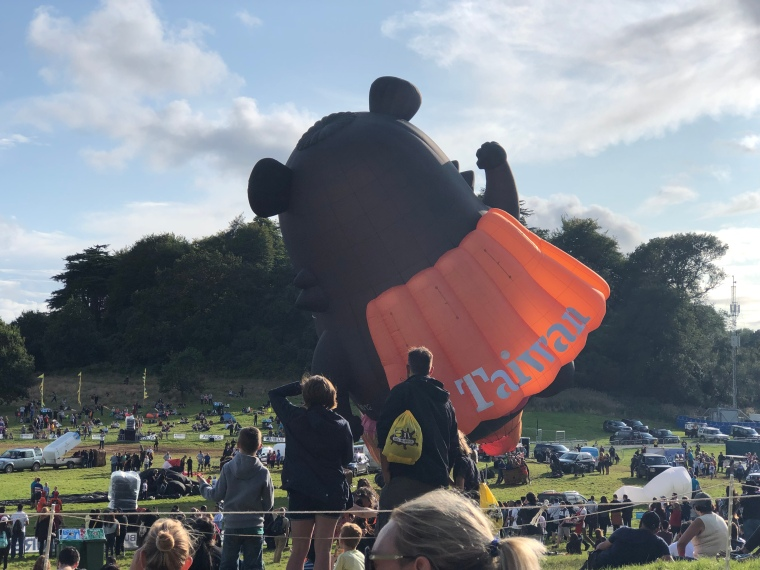 Bristol Balloon Fiesta: free things to do with kids