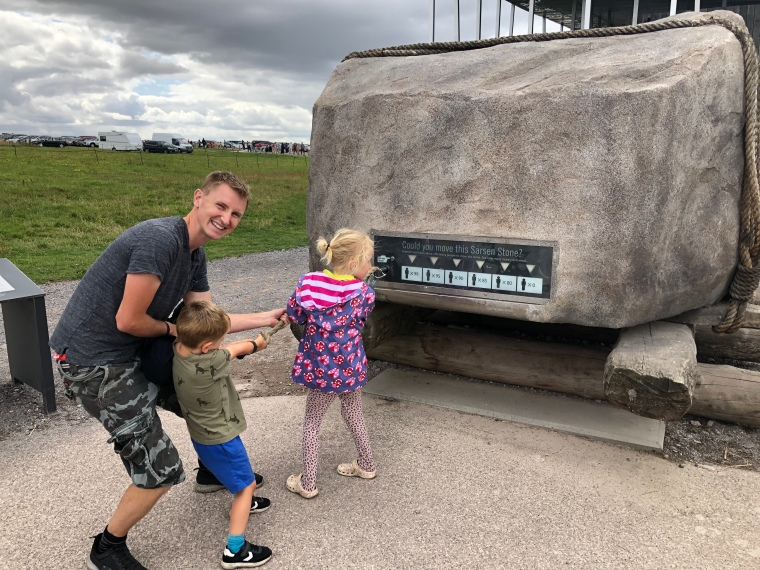 Our first family visit to Stonehenge
