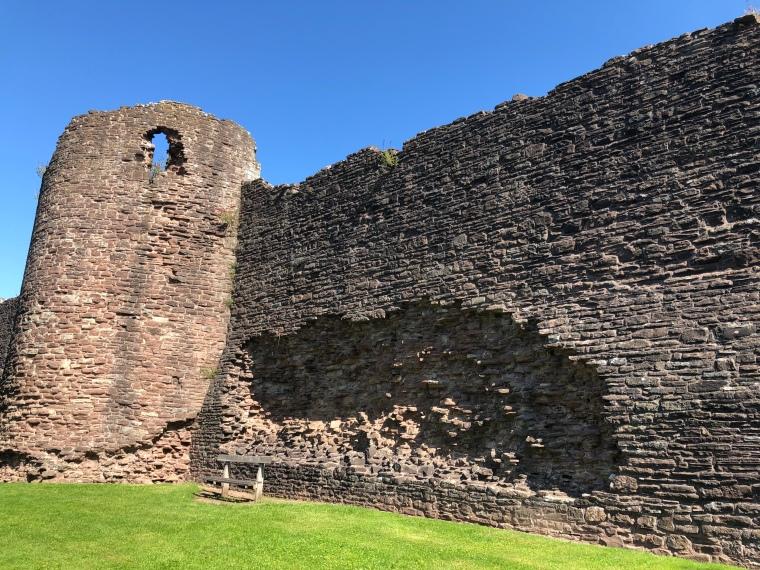 Skenfrith Castle Wales