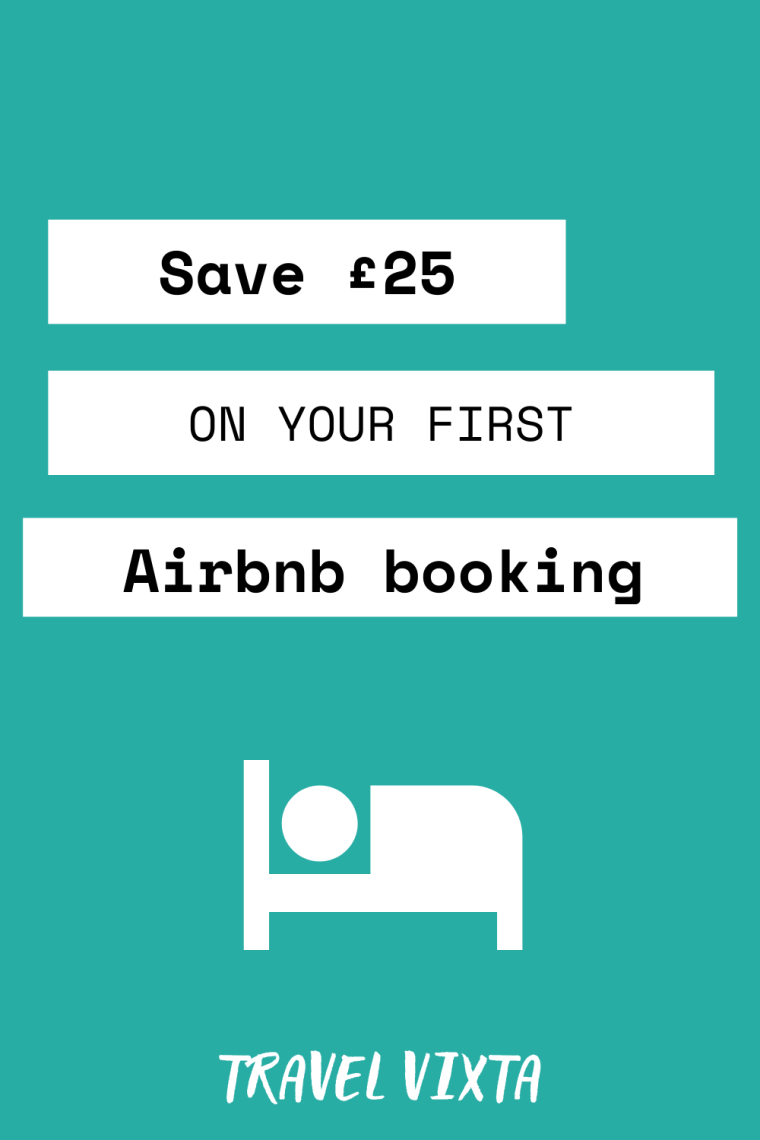 Save £25 on your first Airbnb accommodation booking (2)