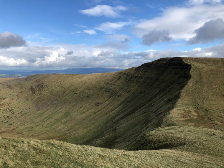 pen y big from cribyn