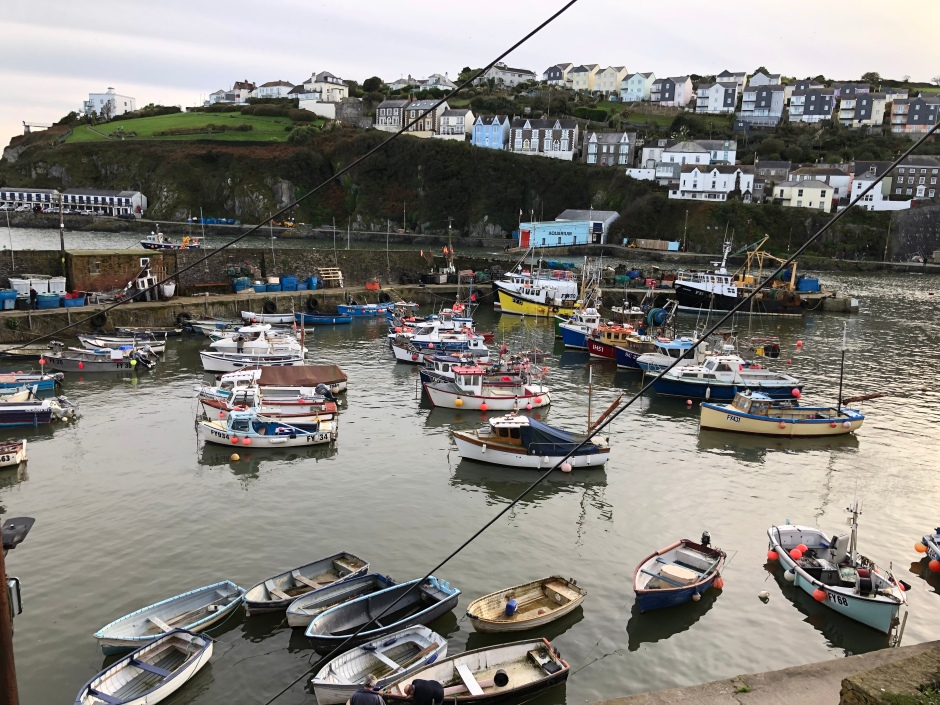 Cornwall with kids: walking the coast path to Mevagissey