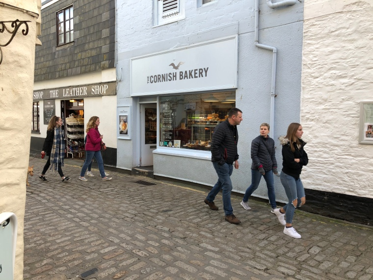 Cornish Bakery Mevagissey Cornwall