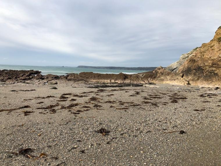 Cornwall with kids: Hemmick Beach