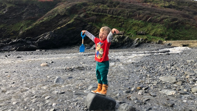 Cornwall with kids: West Portholland
