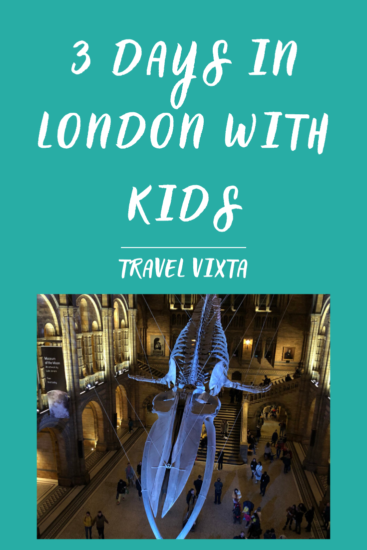 3 days in london with kids - budget family travel