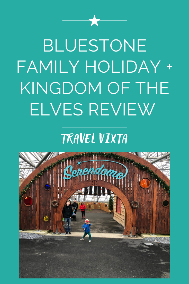 Bluestone National Park Resort twixmas holiday review + Kingdom of the Elves