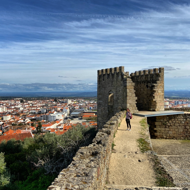 Castle of Castelo Branco - Top Instagram spots in Castelo Branco, Portugal