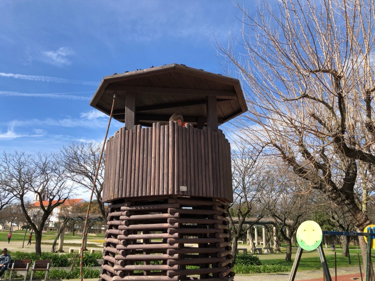 City park garden - Castelo Branco, Portugal, things to do with kids