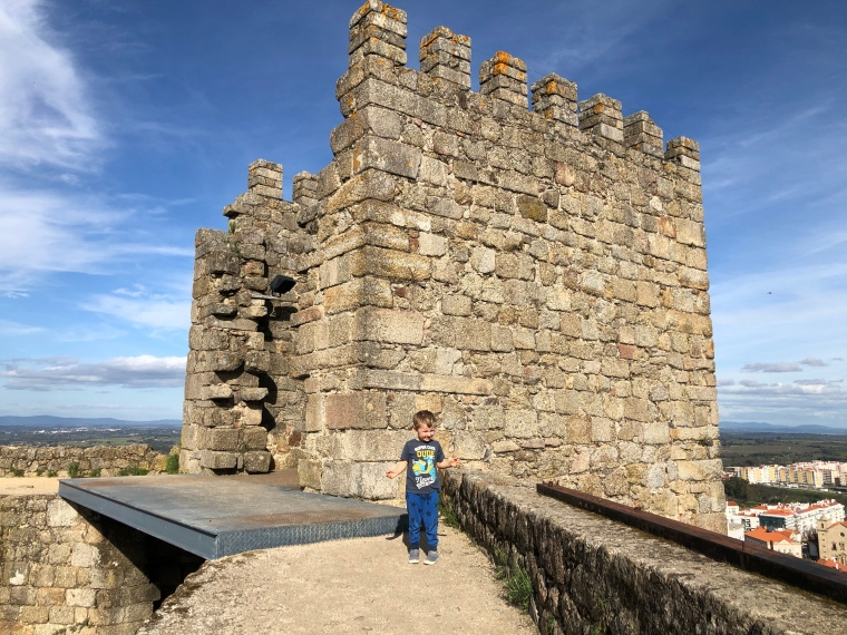 Castle of Castelo Branco, Portugal, things to do with kids