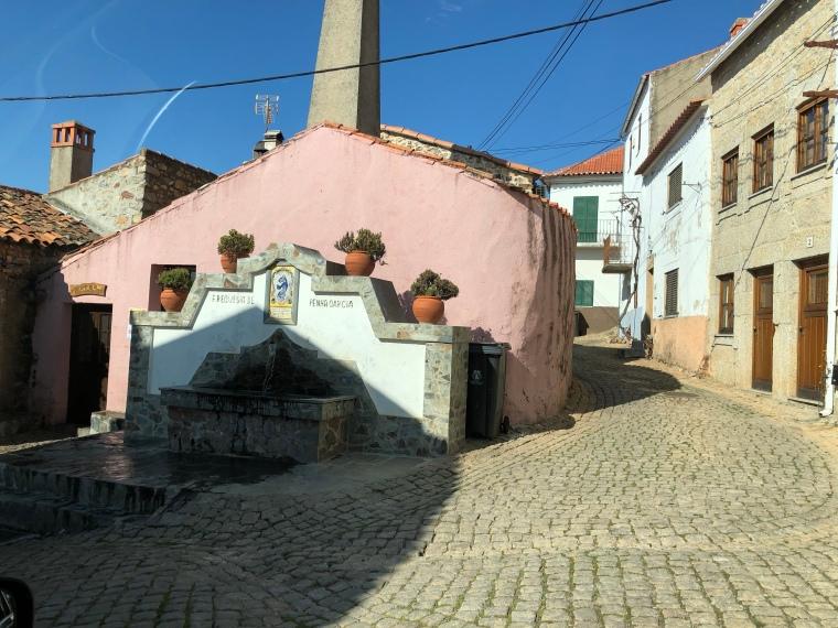 Portuguese streets Penha Garcia Portugal