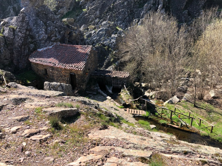 Mountain houses Penha Garcia Castelo Branco Portugal travel with kids