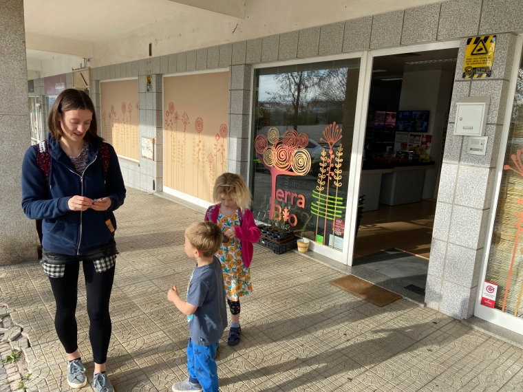 Terra Bio natural grocery store - Castelo Branco, Portugal, things to do with kids