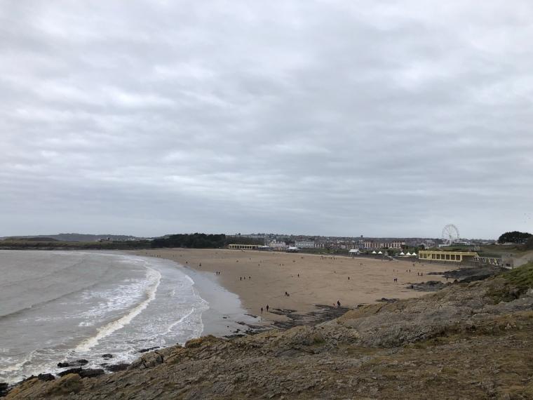 Whitmore Bay beach Barry Island Wales