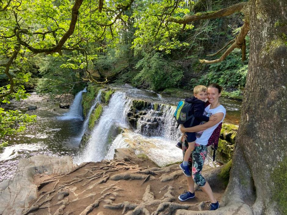 Ystradfellte waterfalls: Brecon Beacons National Park four waterfalls walk