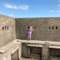 Brean Down Fort + coastal walk