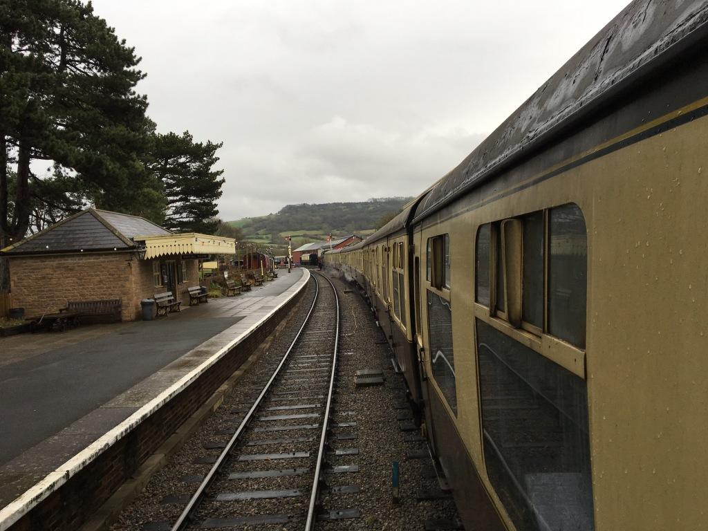 GWSR Steam Train Cheltenham Racecourse