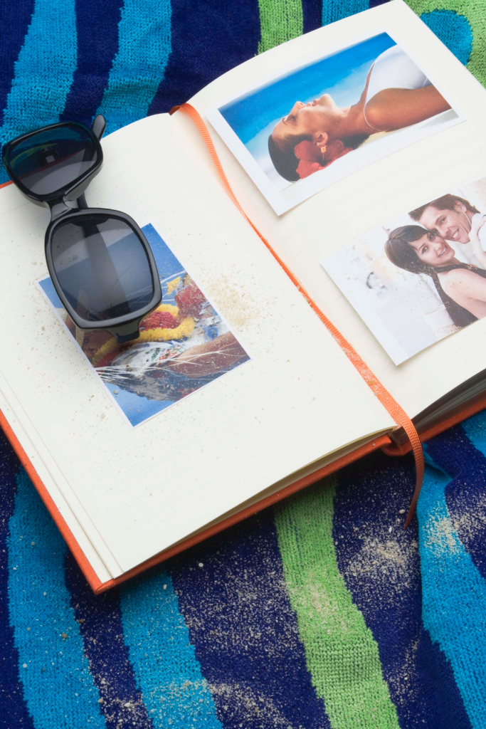 Top tips for creating a personalised travel scrapbook journal