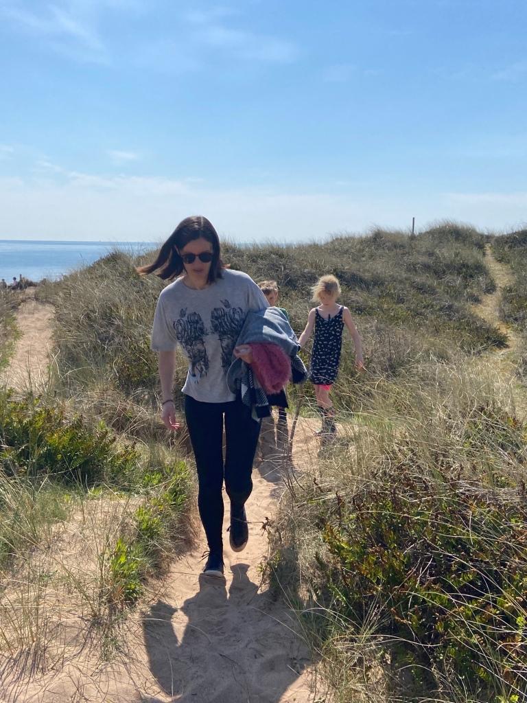 Dawlish Warren national Nature Reserve and spit beach