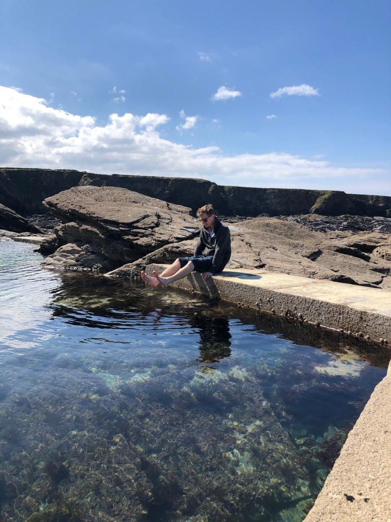 trevone tidal pool