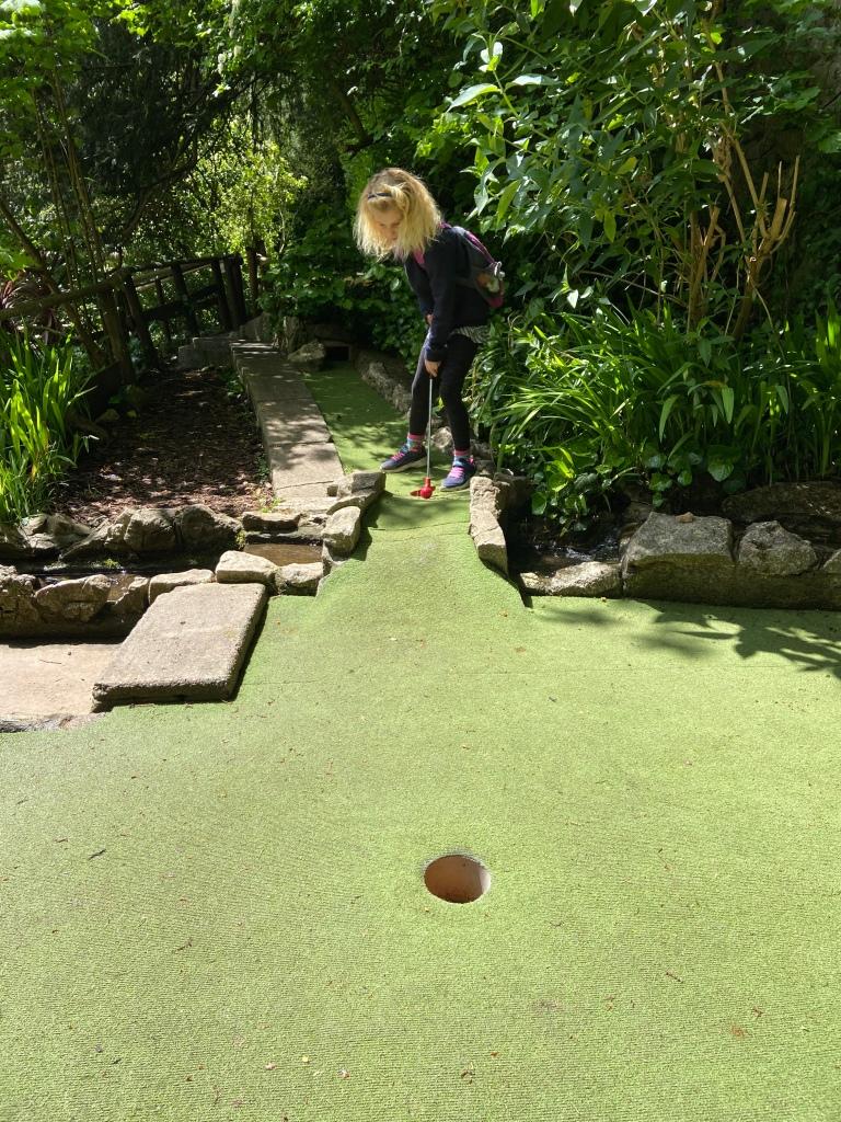 crazy golf cheddar gorge