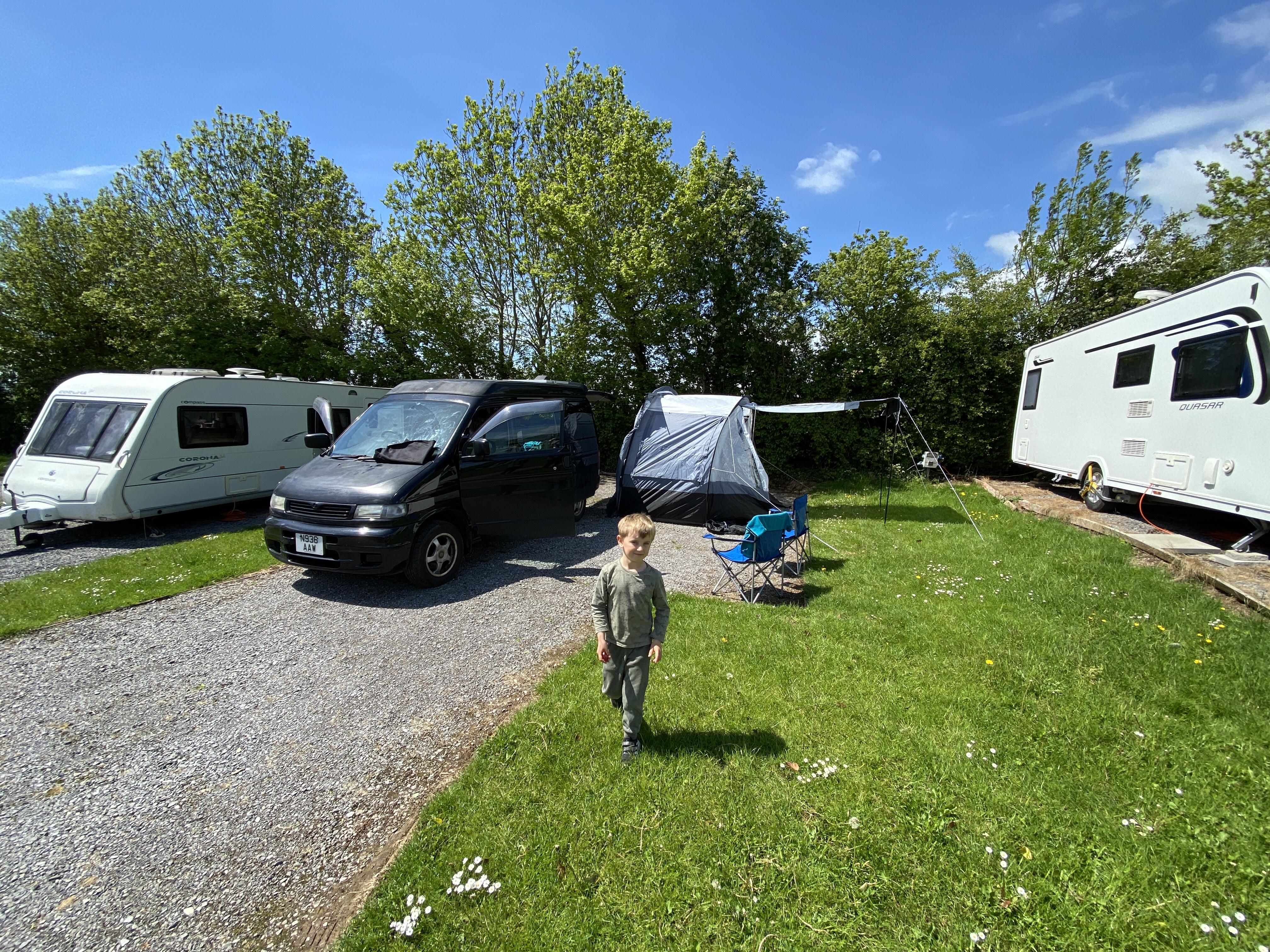 Bucklegrove Campsite Cheddar Somerset