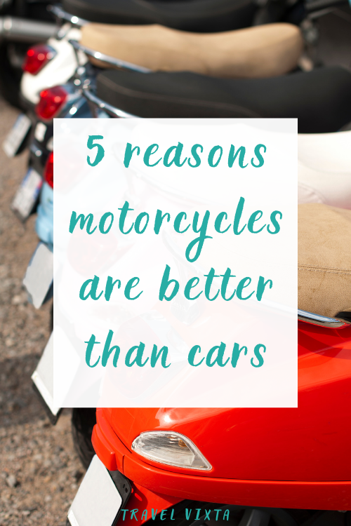 Motorcycle vs Car: 5 reasons why motorcycle sales are booming