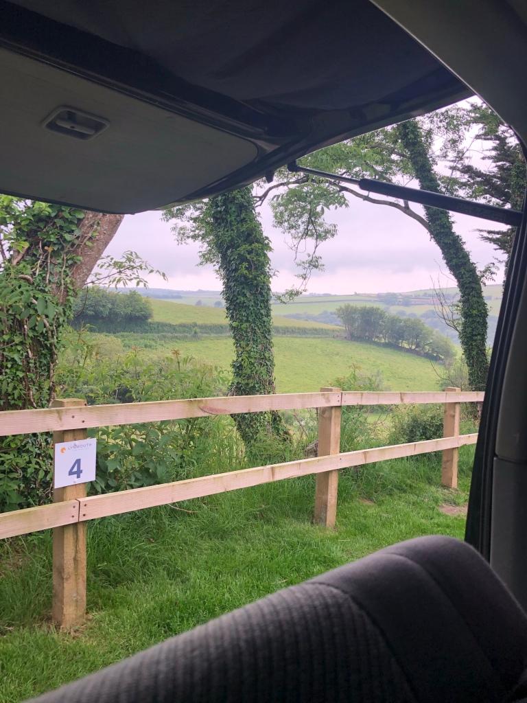 Camping trip to Lynmouth Lynton Exmoor National Park Devon