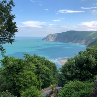 Camping trip to Lynmouth + Lynton, Exmoor National Park
