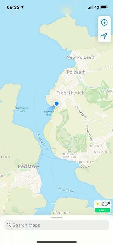 Daymer Beach to Brea Beach coastal path walk Cornwall stunning views