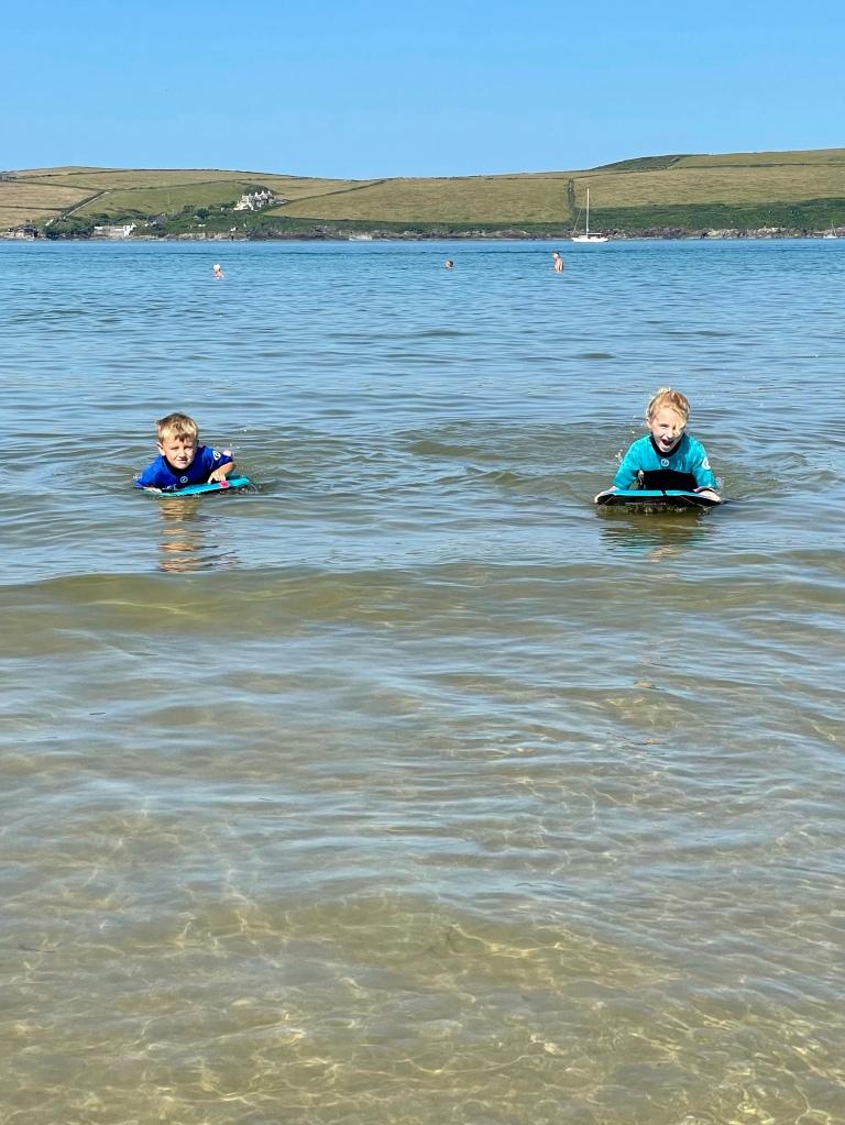 Daymer Beach good for kids