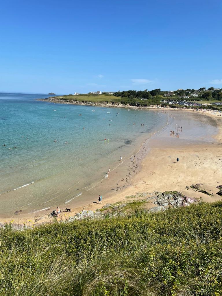 Daymer Beach Cornwall