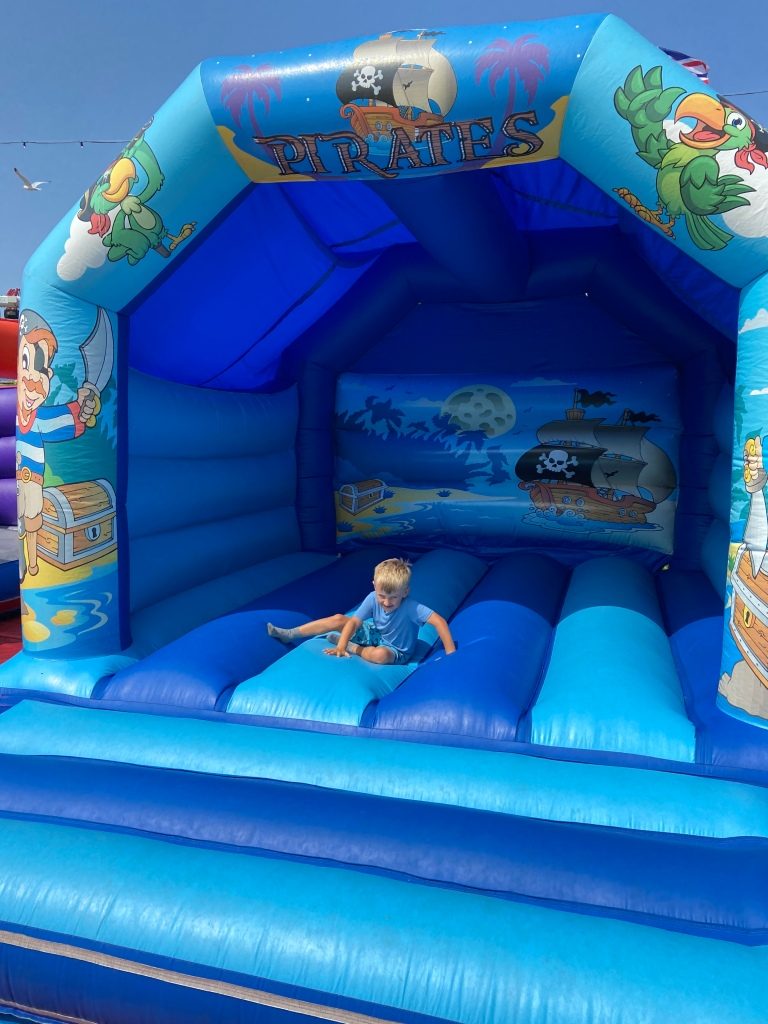 Ilfracombe bouncy castle