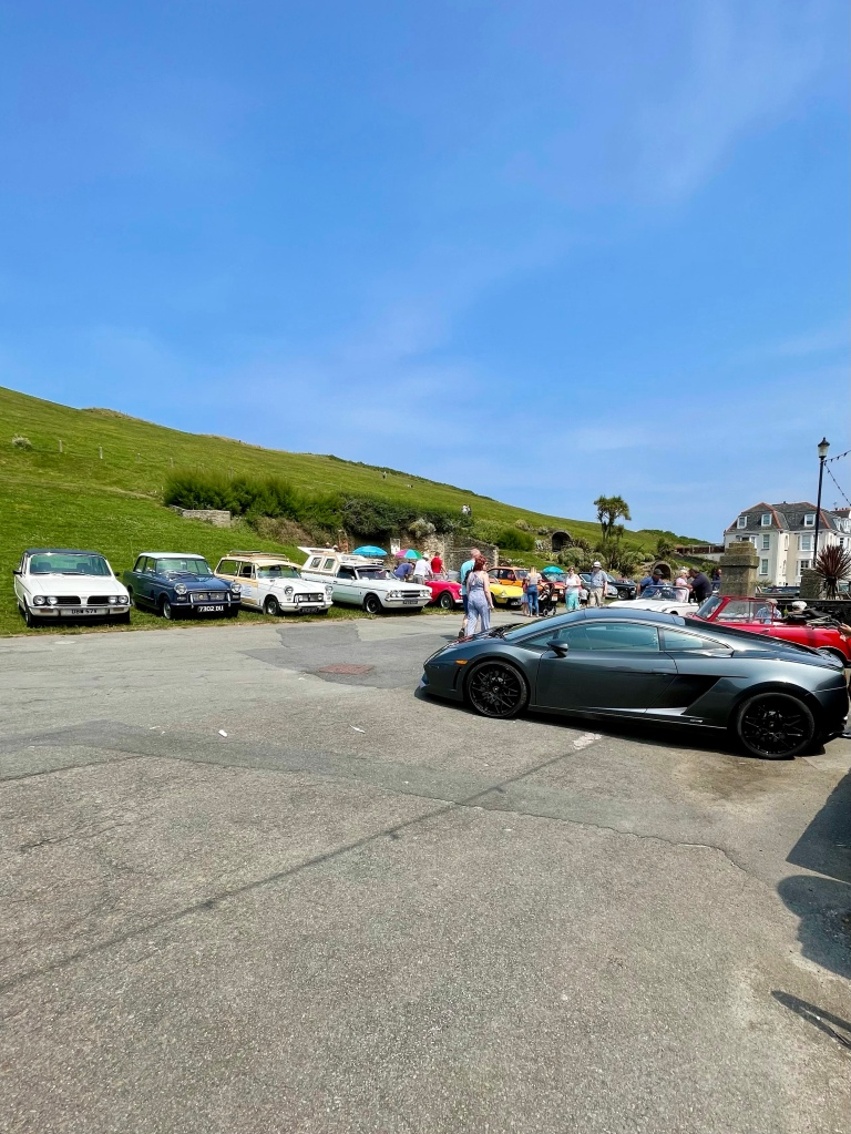 classic car show Ilfracombe