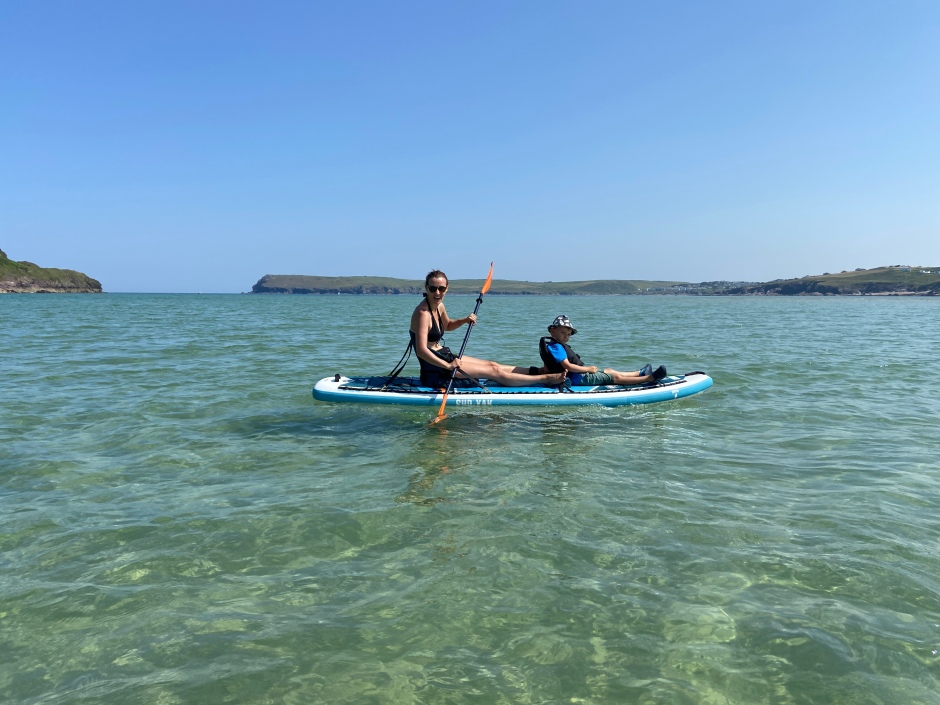 Sup-yak review harbour cove Cornwall